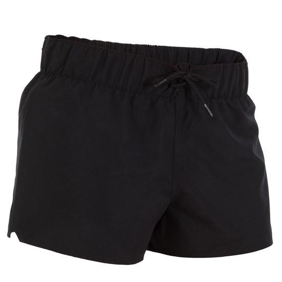 Boardshort dames Tana, effen met een elastische taille - 15679