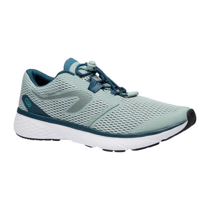 Zapatillas Running Kalenji Run Support Breath Hombre Verde Grisáceo
