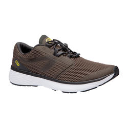 MEN'S JOGGING SHOES RUN SUPPORT BREATHE - BROWN