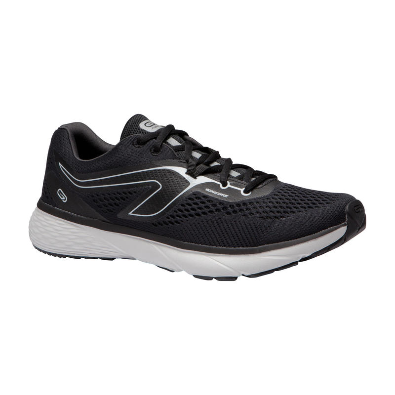 RUN SUPPORT MEN'S RUNNING SHOES - BLACK