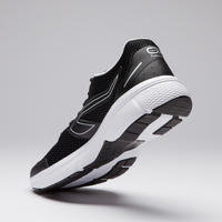 TENIS DE RUNNING PARA HOMBRE RUN CUSHION NEGROS GRISES
