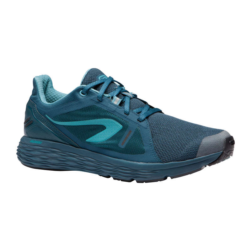 REGULAR MEN JOGGING SHOES Running - RUN COMFORT M - GREEN KALENJI - Running Footwear