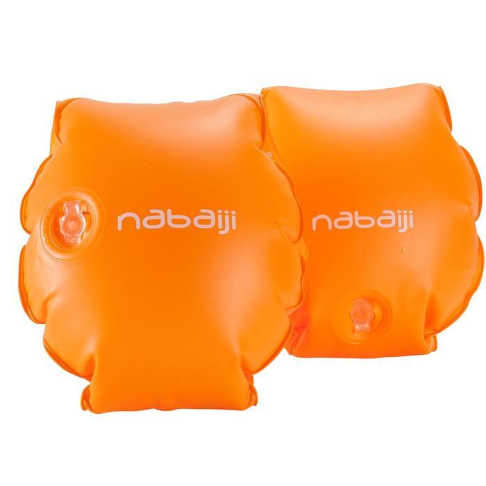 Brassards orange avec deux chambres de gonflages pour enfants de 11 à 30 kg - 156804
