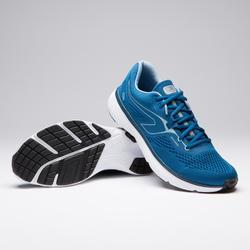 Zapatillas Running Kalenji Run Support Hombre Azul Prusia