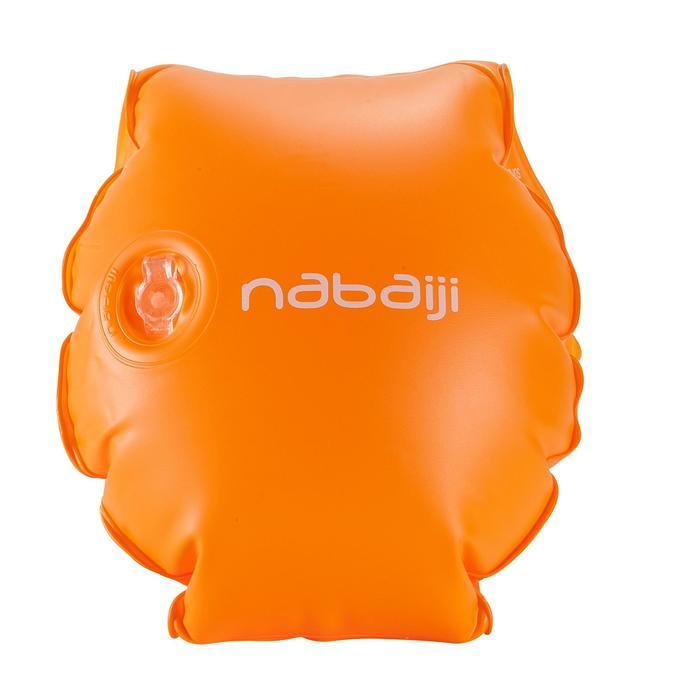 Brassards orange avec deux chambres de gonflages pour enfants de 11 à 30 kg - 156806