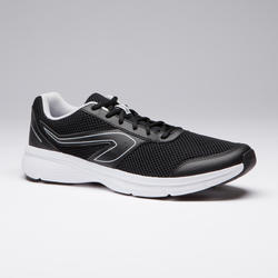 RUN CUSHION MEN'S RUNNING SHOE - BLACK/GREY