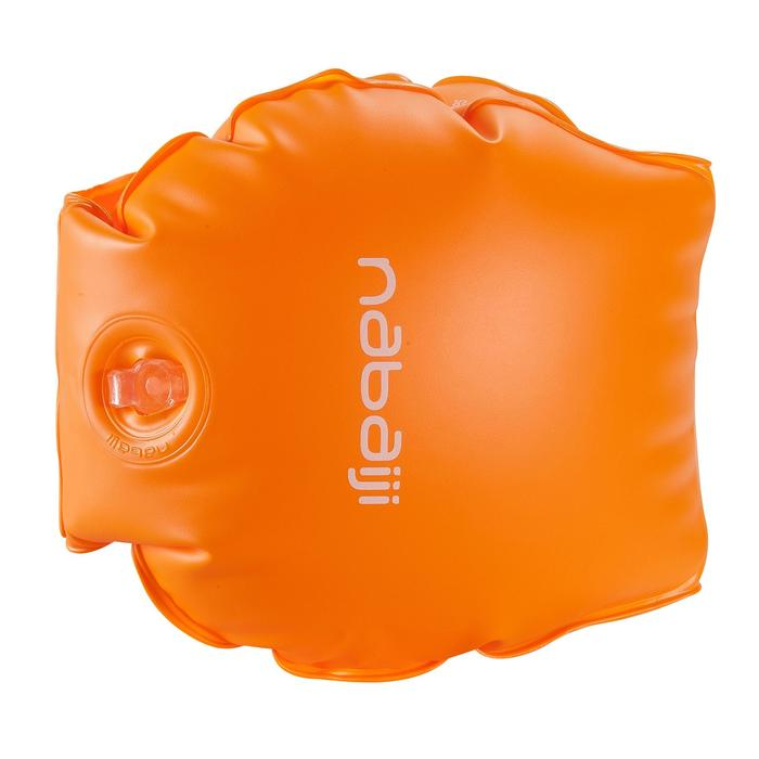 Brassards orange avec deux chambres de gonflages pour enfants de 11 à 30 kg - 156807