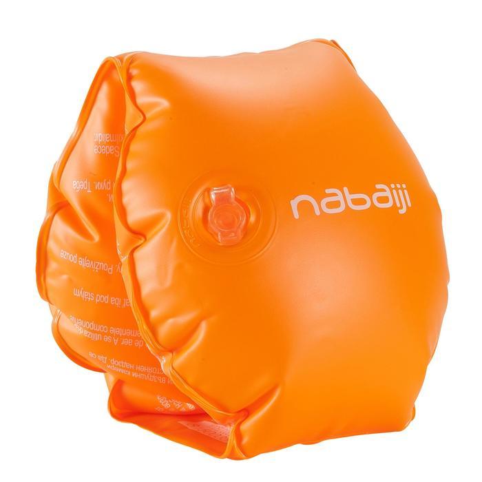Brassards orange avec deux chambres de gonflages pour enfants de 11 à 30 kg - 156808