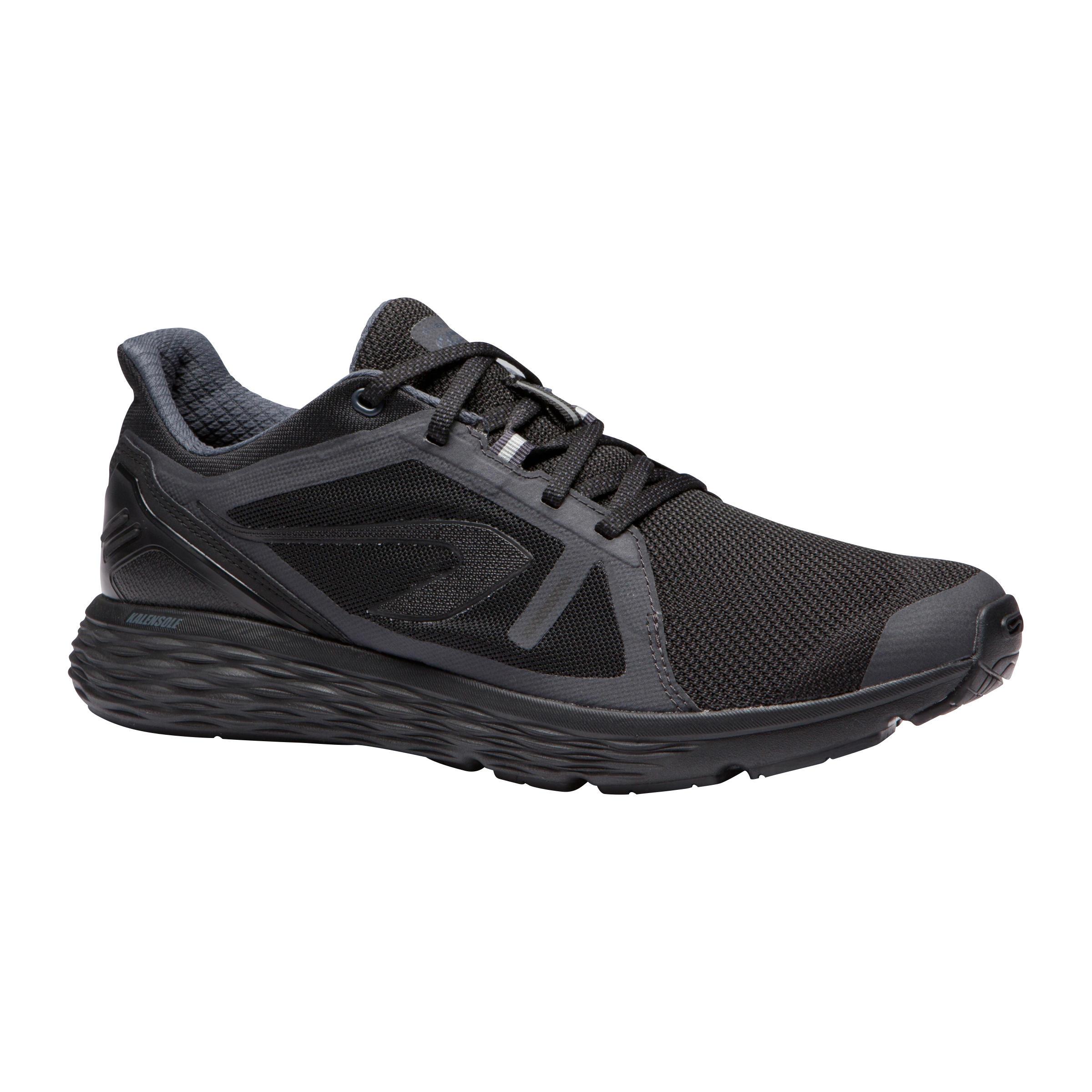 Kalenji Joggingschoenen Run Comfort heren zwart