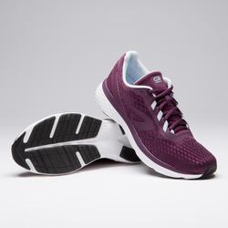 Zapatillas Running Kalenji Run Support Mujer Violeta Ciruela