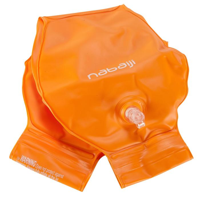 Brassards orange avec deux chambres de gonflages pour enfants de 11 à 30 kg - 156814