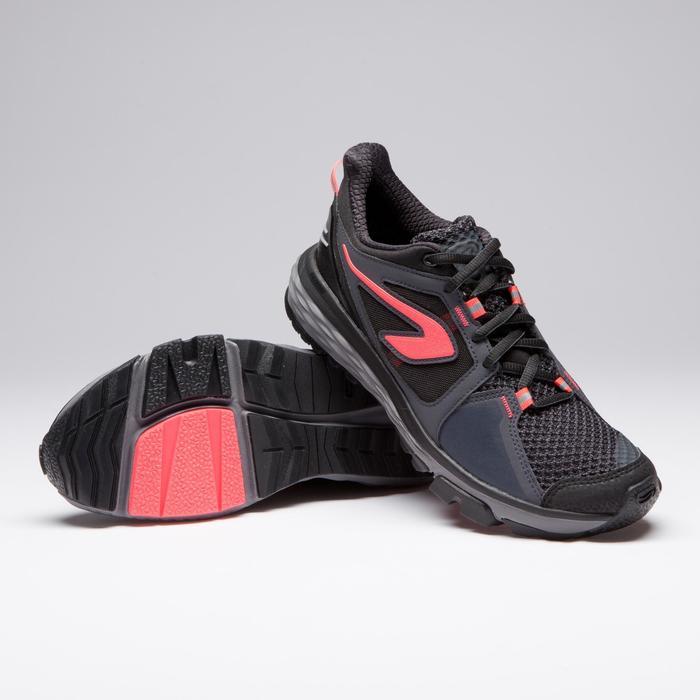 Joggingschoenen voor dames Run Comfort Grip bordeaux/koraalrood