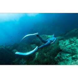 Apnoe-Flossen Freediving FRD 500 blau