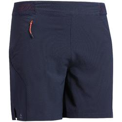 Short voor fast hiking FH500 heren marineblauw