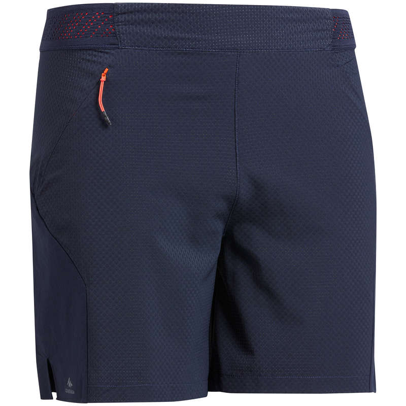 MEN ULTRALIGHT SHOES, APPAREL, BACKPACK Hiking - Men's Shorts FH500 - Navy QUECHUA - Hiking Clothes