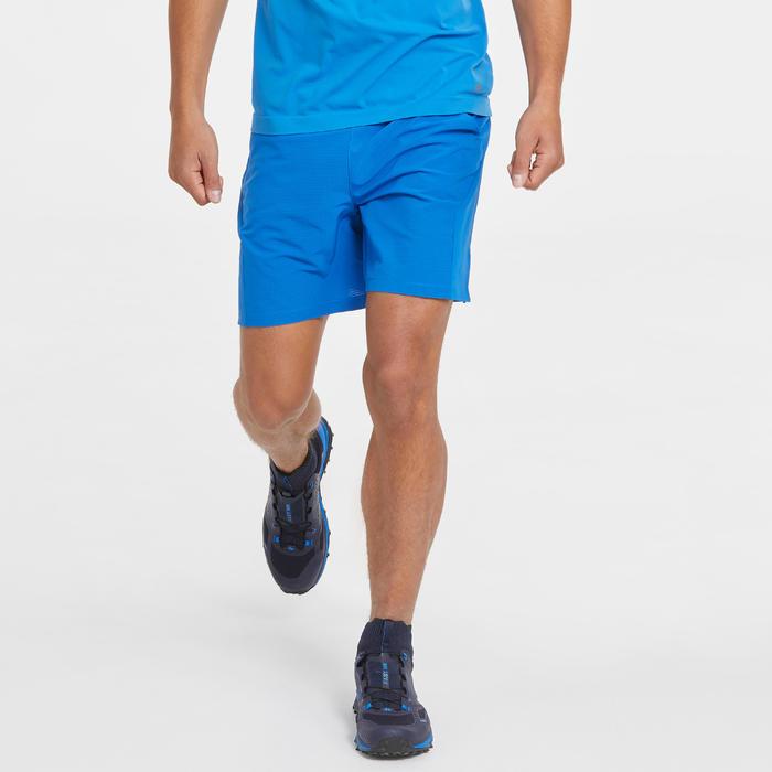 男款極速健行短褲FH500-藍色