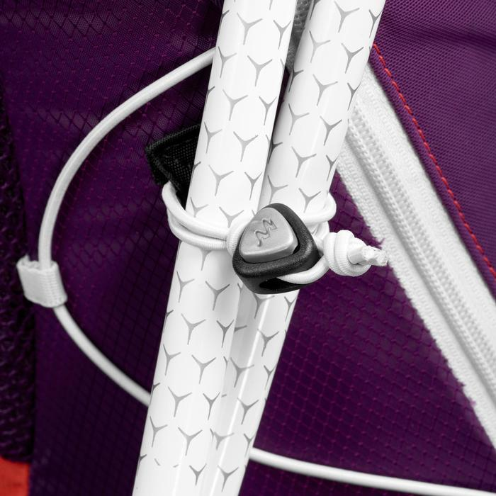 Sac à dos de randonnée rapide FH900 Helium 17 litres violet