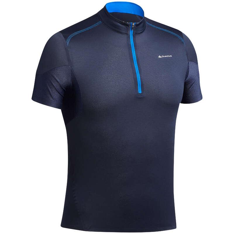 MEN ULTRALIGHT SHOES, APPAREL, BACKPACK Hiking - Men's T-shirt FH500 Helium QUECHUA - Hiking Clothes