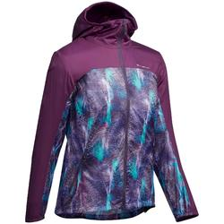 Windjacke Speed Hiking FH500 Helium Damen lila
