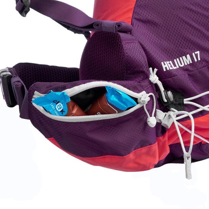 Mochila de senderismo rápido FH900 Helium 17 litros violeta