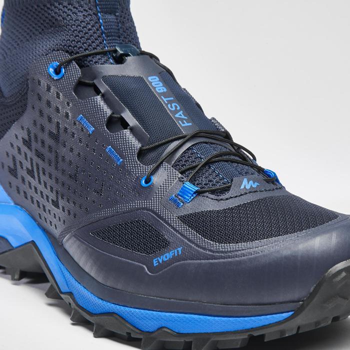 Chaussure de randonnée rapide homme FH900 bleue