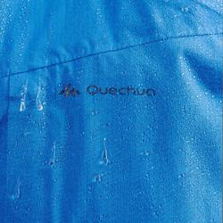 Veste imperméable de randonnée rapide Homme FH500 Helium Rain bleu