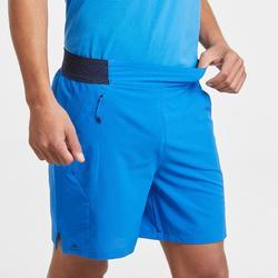 Short de randonnée rapide FH500 Homme Bleu