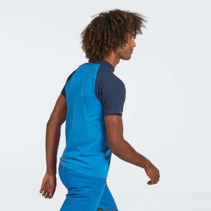 T-shirt manches courtes de randonnée rapide homme FH900 Bleu