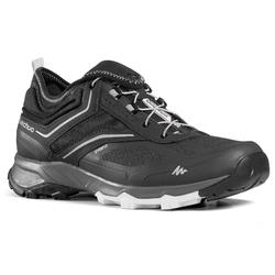 ULTRA-LIGHT HIKING SHOES - FH500 - BLACK - MEN