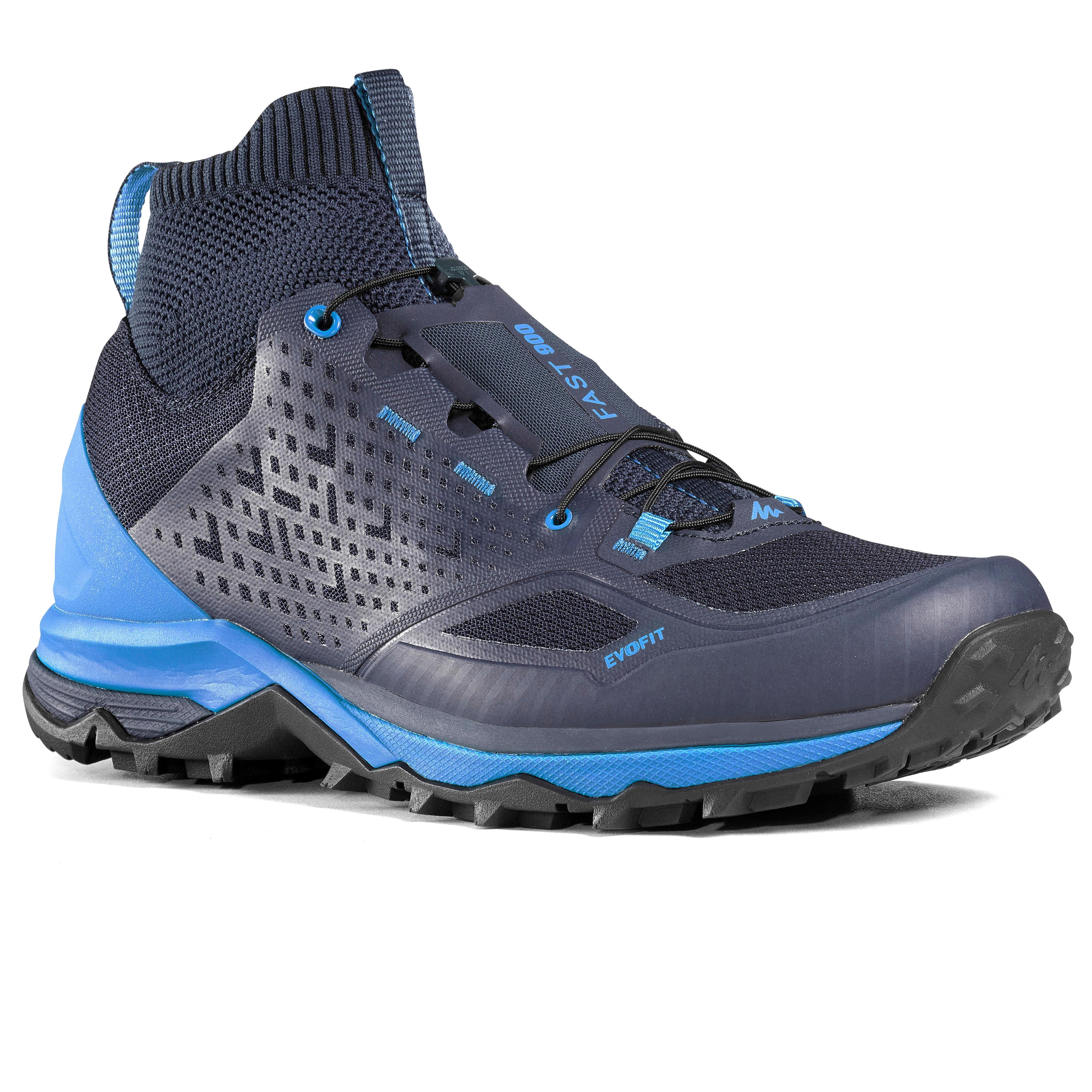 Quechua Schoenen voor fast hiking FH900 heren blauw