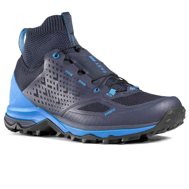 МУЖ. ОДЕЖДА, ОБУВЬ, РЮКЗАКИ Удобная обувь для походов - БОТИНКИ МУЖСКИЕ СИНИЕ FH900 QUECHUA - Бутик