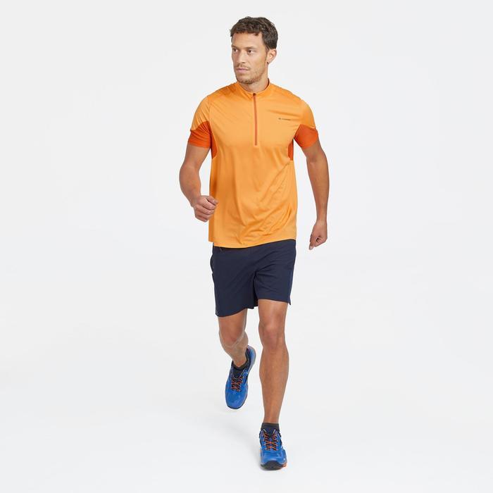Short voor fast hiking FH500 heren marineblauw