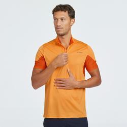 T-shirt manches courtes de randonnée rapide homme FH500 Helium Orange