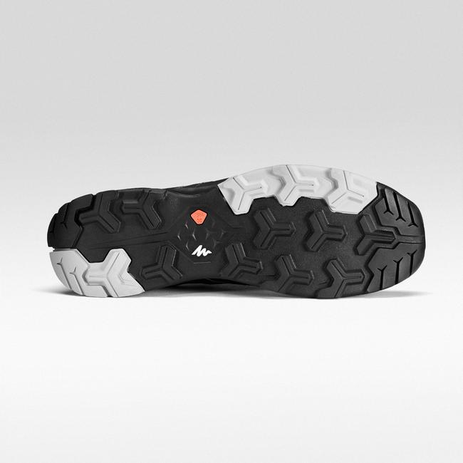 Men's Fast Hiking Shoes FH500 Helium - Black