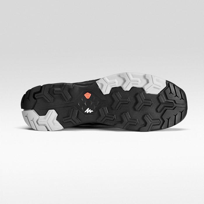 Zapatillas de senderismo rápido hombre FH500 Helium Negro.