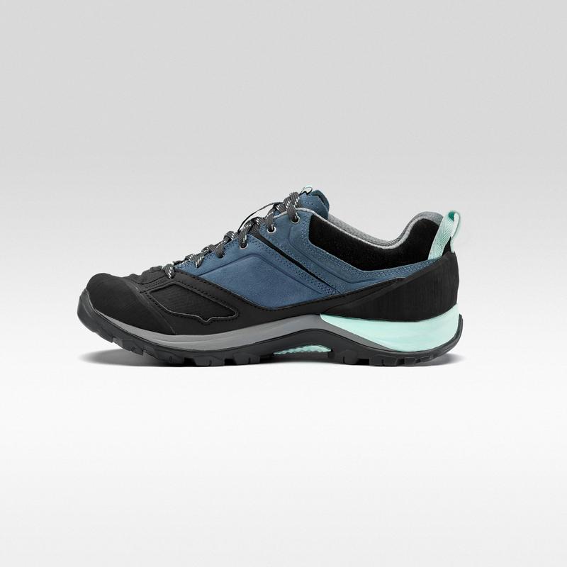รองเท้ากันน้ำผู้หญิงสำหรับเดินป่าบนภูเขารุ่น MH500 (สีน้ำเงิน)
