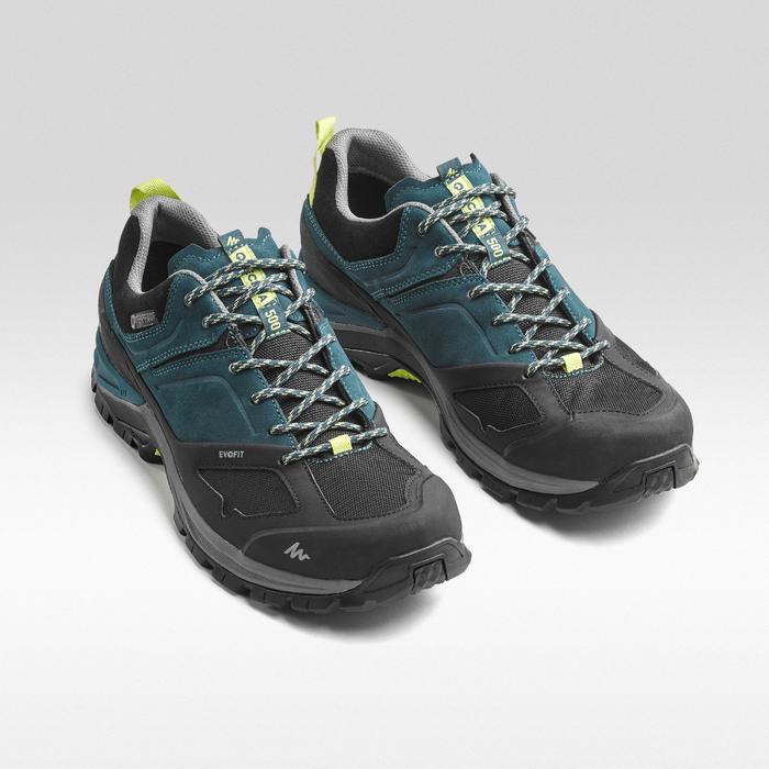 Chaussures de randonnée montagne homme MH500 imperméable Bleu