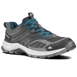 Men's Mountain Walking Shoes MH100 - black