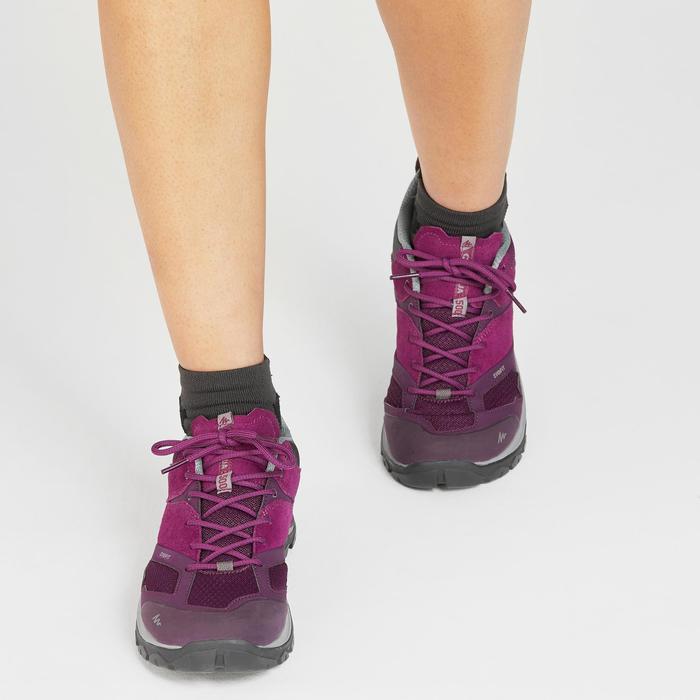 Bergwandelschoenen voor dames MH500 paars