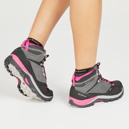 Chaussures de randonnée imperméables MidMH500 - Femmes