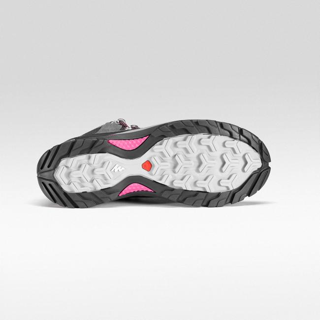 Women's Hiking Shoe WATERPROOF (Mid Ankle) MH500 - Grey