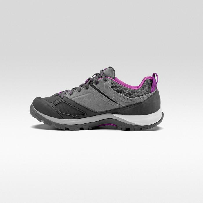 Women's Waterproof Mountain Walking Boots MH500 - Grey Purple