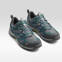 Chaussures imperméables de randonnée montagne - MH100 bleu - Hommes