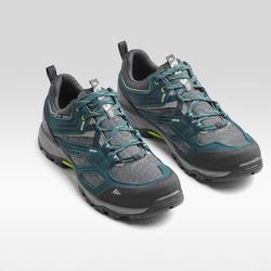 Chaussures de randonnée montagne homme MH100 imperméable bleu