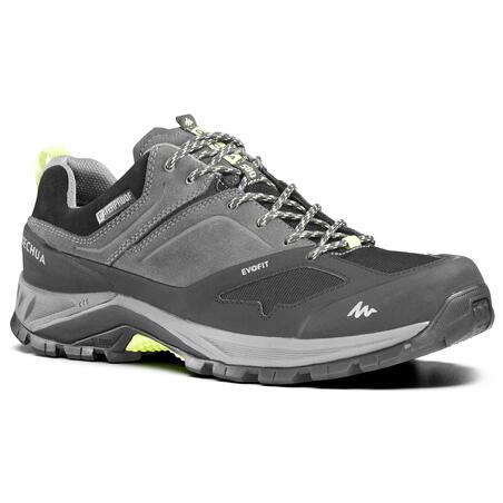 Chaussures imperméables de randonnée montagne - MH500 gris - Hommes