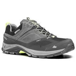 Zapatillas de montaña y trekking hombre MH500 impermeables gris