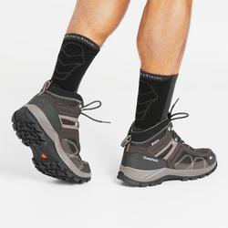 MH100 Mid waterproof Men's Hiking shoes brown