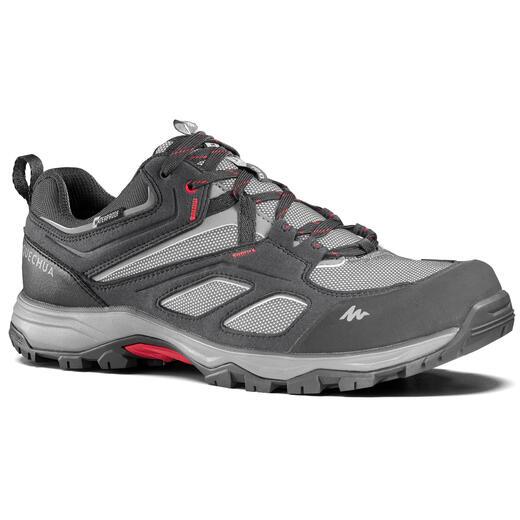 Chaussures imperméables de randonnée montagne - MH100 Gris - Homme
