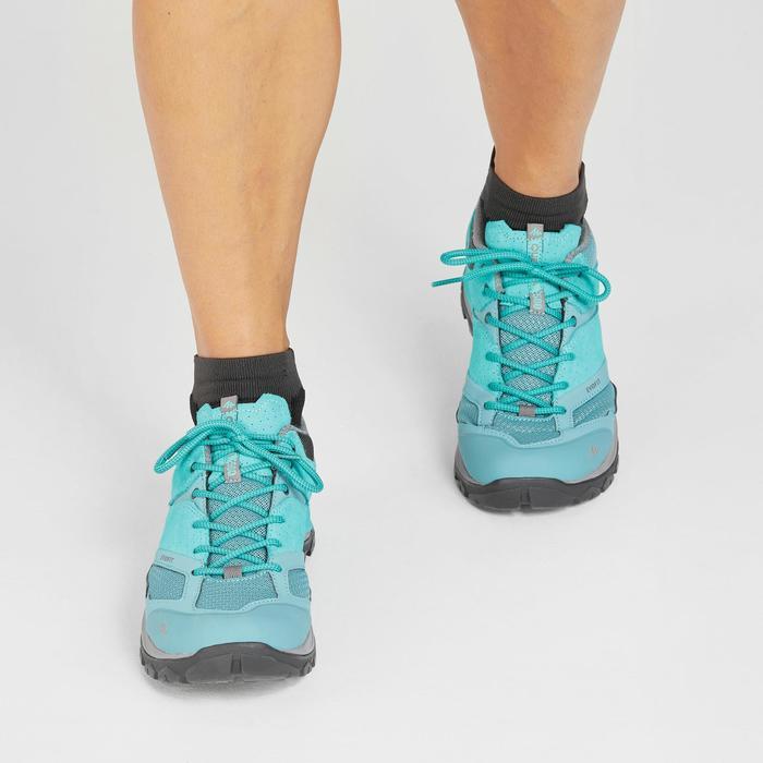 Bergwandelschoenen voor dames MH500 turquoise