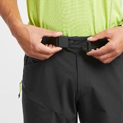 MH500 Men's Long Walking Shorts - Black